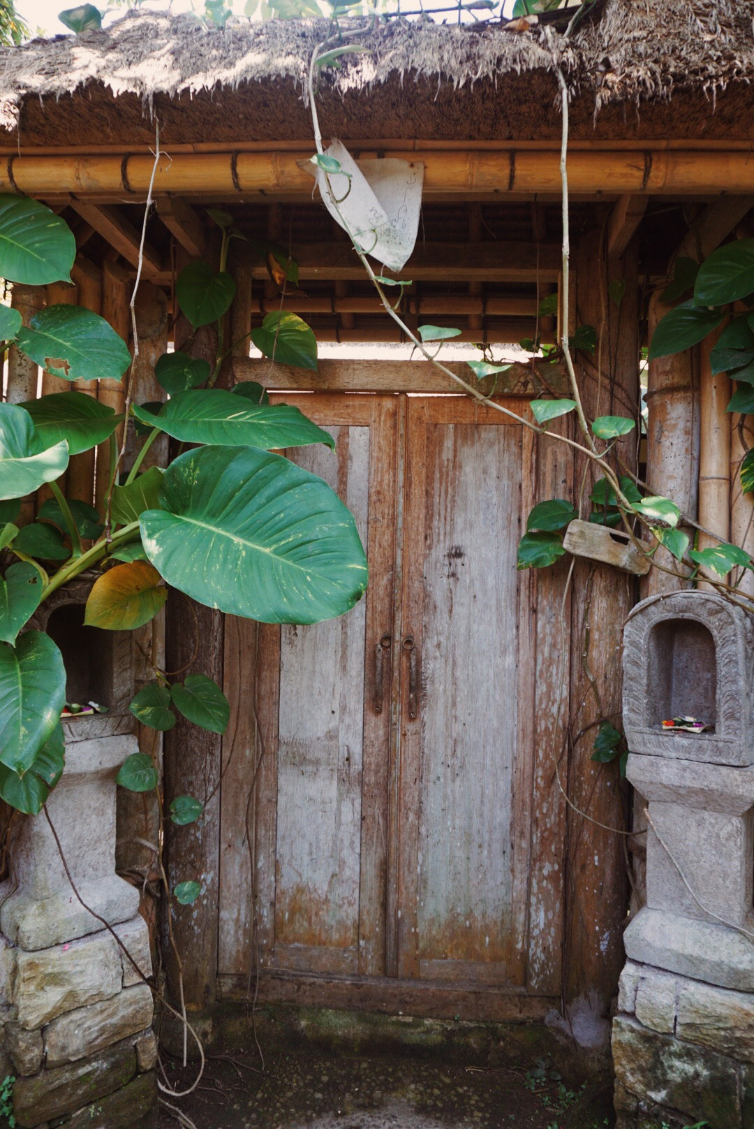 so many magical doorways in Ubud.